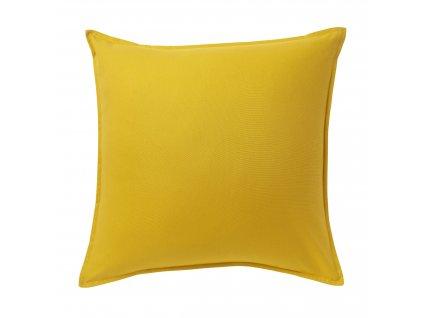 Polštář Hiva 60 x 60 cm Žlutý Doleo.cz