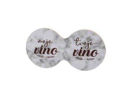 Korkovy dvojtácek - moje vino tvoje vino