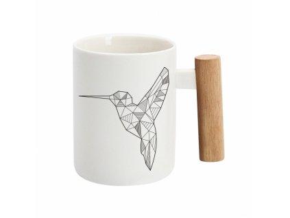 Hrnek s rukojetí - Kolibřík