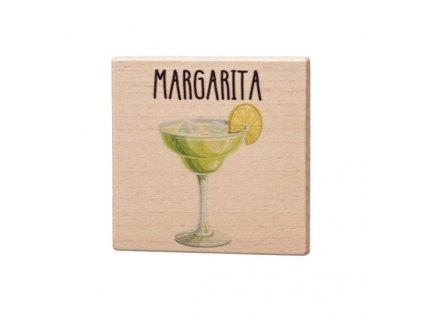 Dřevěný podtácek - Margarita
