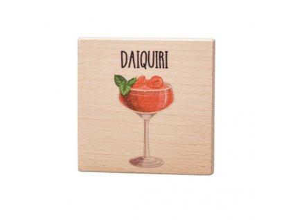 Dřevěný podtácek - Daiquiri