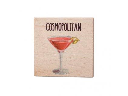 Dřevěný podtácek - Cosmopolitan