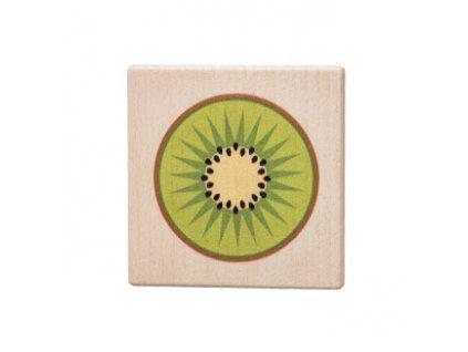 Dřevěný podtácek - Kiwi