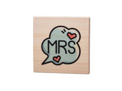 Dřevěný podtácek - MRS