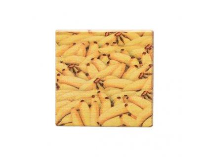 Dřevěný podtácek - Banány
