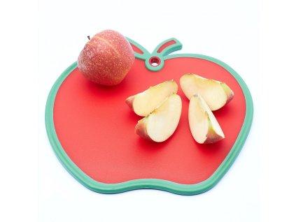 Deska na krájení ve tvaru jablka 29 x 28 cm Doleo.cz