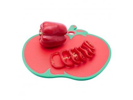 Deska na krájení ve tvaru rajčete 31,7 x 27 cm Doleo.cz