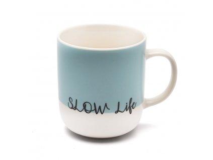 Porcelánový hrnek Slow life 430 ml Doleo.cz