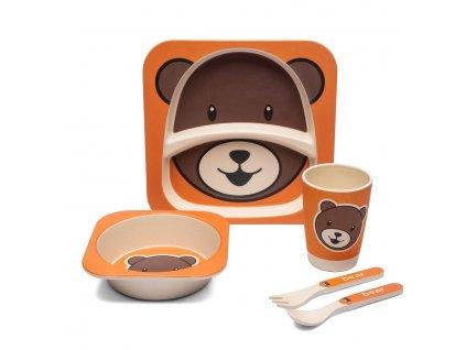 Dětská jídelní sada Medvěd - Doleo