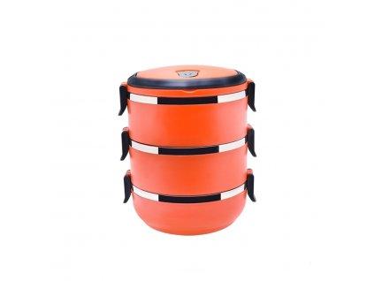 Jídlonosič 2,1l Oranžový - Doleo