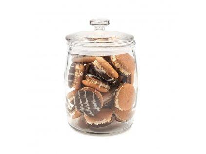 Skleněná dóza na sušenky 2l - Doleo