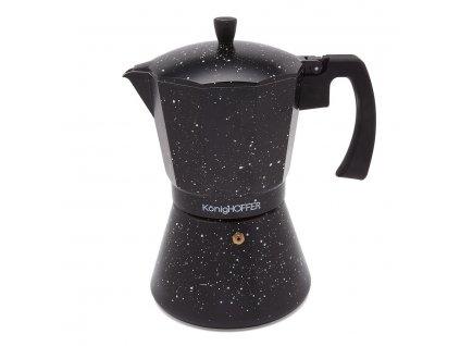 Moka konvice na espresso BLACK 720ml - 12 šálků | Doleo.cz