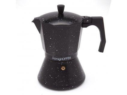 Moka konvice na espresso BLACK 450ml - 9 šálků | Doleo.cz