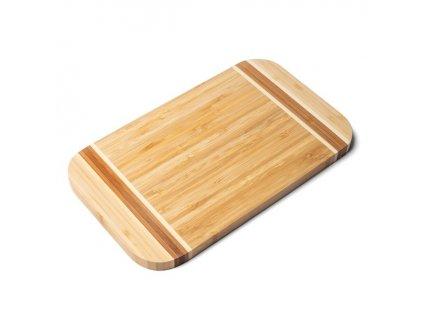 Bambusová deska na krájení 30 x 18 x1,6 cm | www.doleo.cz