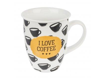 Porcelánový hrnek I Love Coffee 330 ml | www.doleo.cz