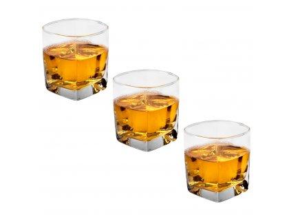 Whiskey sklenice 320 ml 3 ks