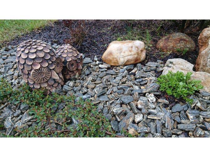 Kamenná kůra Gnejs drobná 8-16 mm 25 kg pytel