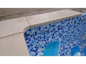 Limestone bazénový lem 0,5m