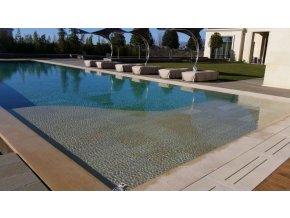 Limestone dlouhá mřížka přelivového bazénu