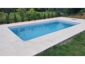 Limestone bazénová dlažba