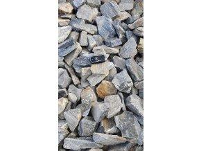Kamenná kůra Gnejs 63-150 mm 25 kg pytel