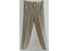 Pánské lněné kalhoty klasické