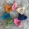 Čepice - merino / růžová