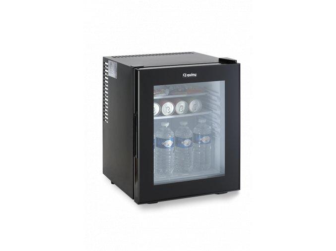 Minibar quiny 30 l - skleněné dveře