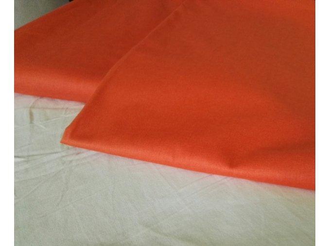 Set povlak na polštář a peřinu 145tc, oranžová