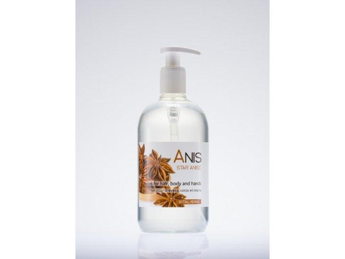 Vlasový a tělový šampon 500 ml - anýz