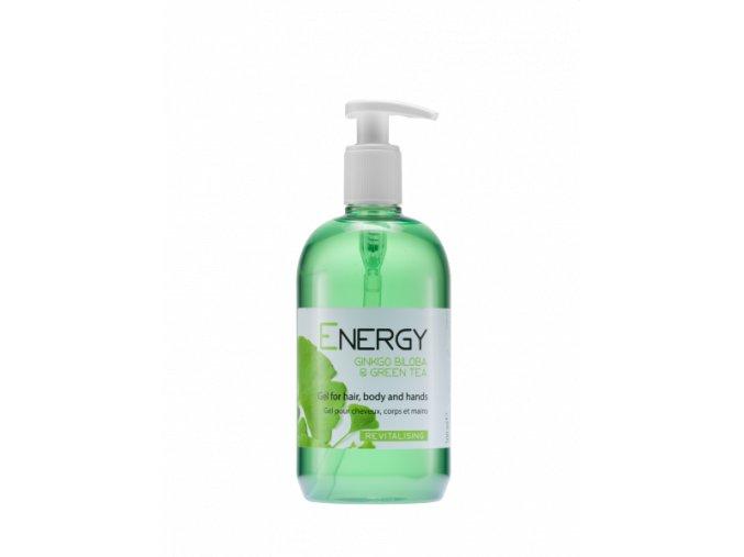 Vlasový a tělový šampon 500 ml, Energy