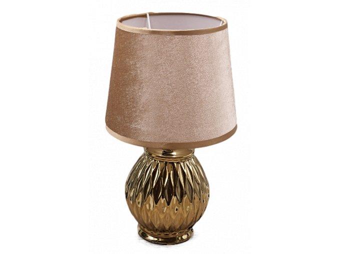 keramicka lampicka zlata