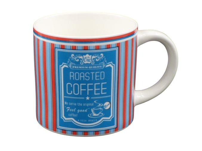"Keramicky hrnek retro stylu 300 ml ""Roasted coffee"""