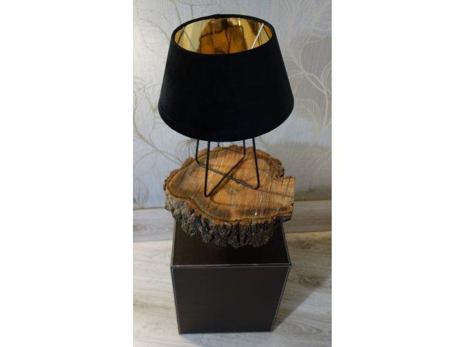 Noční lampa industrial kovová
