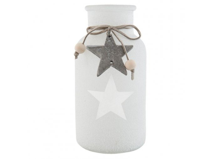 dekorativni vaza lahev sklenena