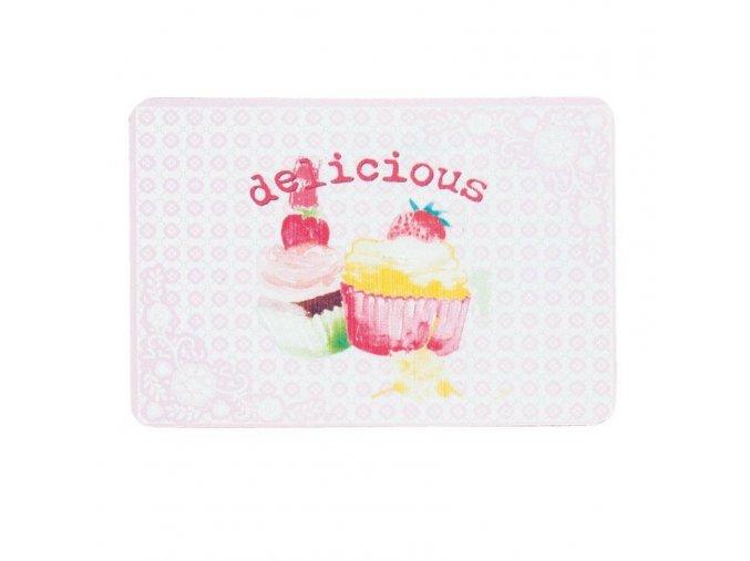 plechova cedulka cupcakes