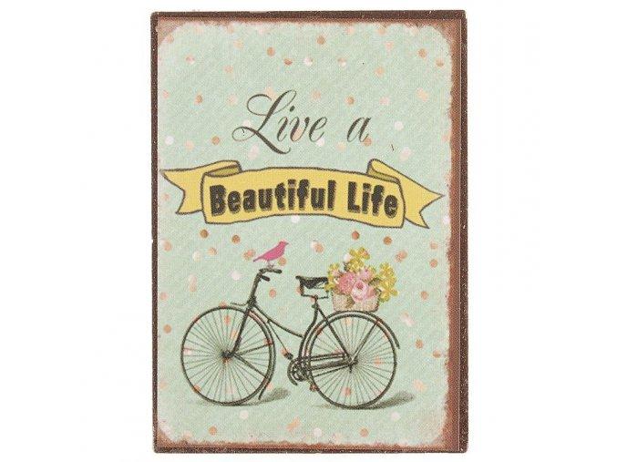 magnetka Beautiful Life 5x10 cm