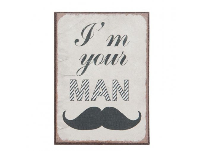 magnetka 5x10 cm I am your man