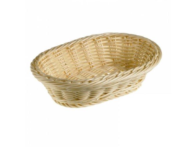 Košík na pečivo, oválný