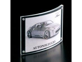 stojánek A6 akrylový