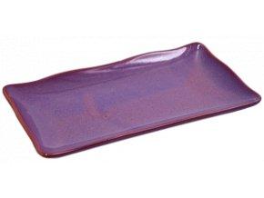 Keramický tác, fialový