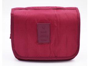 Kosmetická taška, bordová