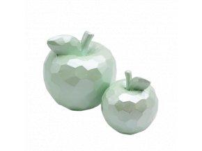 dekorace jablko bledo zelene mix