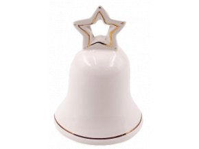 keramicky zvonecek s hviezdickou