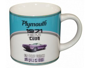Keramicky hrnek retro stylu 300 ml Plymouth