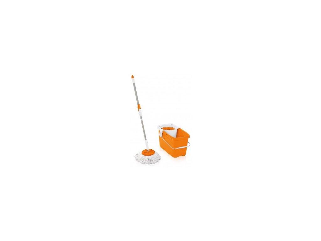 Set CLEAN TWIST Mop orange