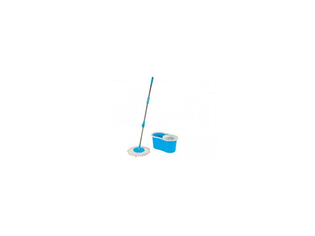 Praktyczna Rotační mop s kýblem - modrý