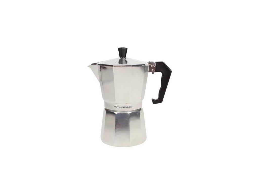Florina Hliníkový kávovar espresso maker - 6 šálků