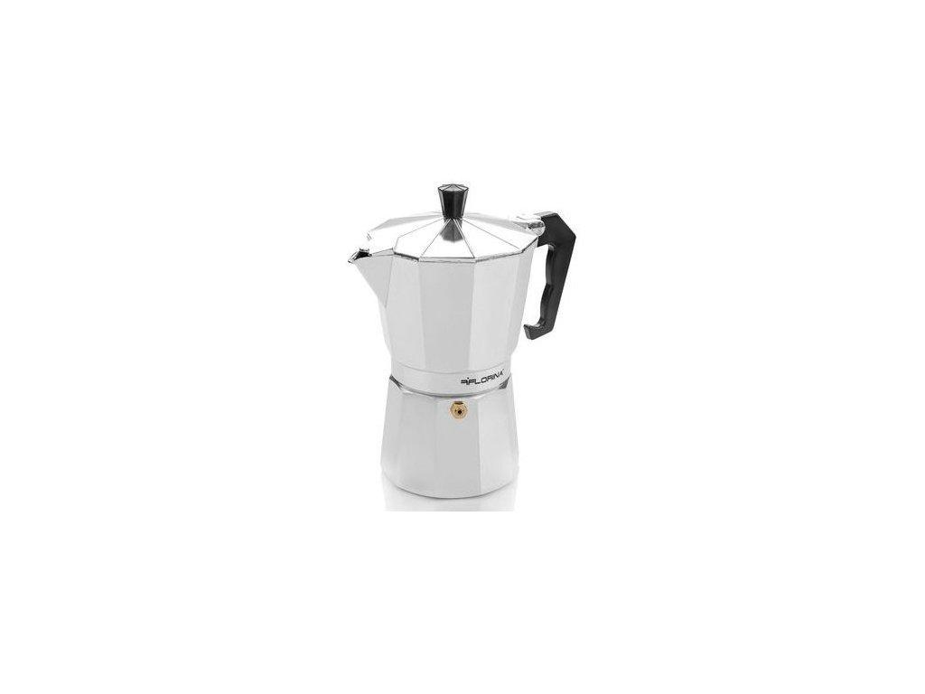 Florina Hliníkový kávovar Espresso Maker (9 šálků)
