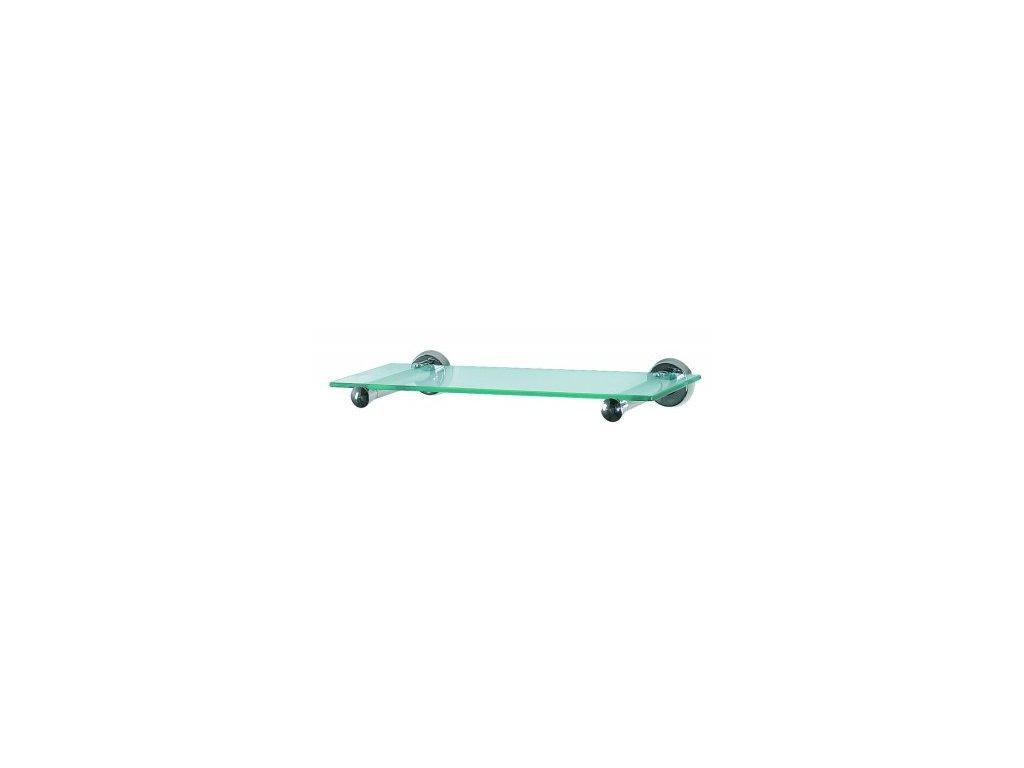 Skleněná polička do koupelny 40 cm Spirella